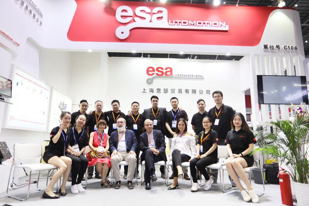 New Esautomotion Trading Co branch in China